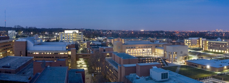 North Campus at Night